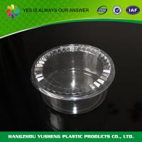 FDA Microwavable Disposable Food Containers Transparent Round Disposable Food Packaging Manufactures