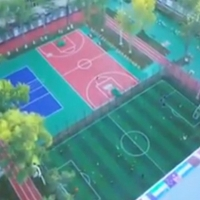 China Durable 7 Layers PU Resins Outdoor Tennis Court Flooring Surfaces on sale