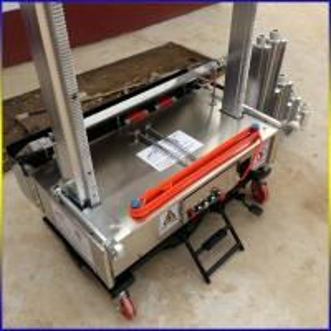 China Automatic Wall Plastering Machine/render machine/auto rendering machinery on sale