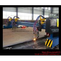 High Precision Flame CNC Cutting Machine In Steel Industry , Carbon Cutter