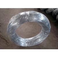 Electro Hot Dipped Galvanized Iron Wire For Building Material ISO9001 Approval Manufactures