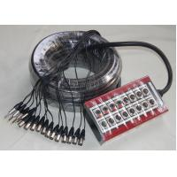 Professional Stage XLR Snake Cable Box Multicore Stage Trolley JFAB1-10 Manufactures