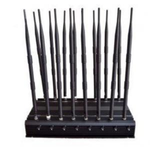 16 Antennas High Power Jammer CDMA GSM DCS PHS PCS 3G WCDMA 4G LTE Manufactures