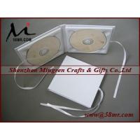 Double Cotton Fabric Linen CD DVD Cover Manufactures