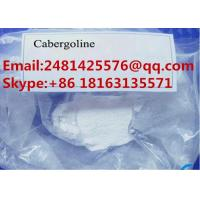 China 99% Purity Pharmaceutical Raw Materials Powder Cabergoline / Dostinex CAS 81409-90-7 on sale