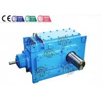 Speed Electric Motor Gear Reduction Box / Worm Reduction Gear Box Manufactures