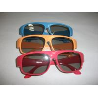 Red Blue Plastic Circular Polarized 3D Glasses ROHS, EN71 Manufactures