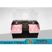 High Speed Electric Card Shuffler Machine For Casino Playing Card Games Manufactures