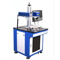 Floor Stand Carbon Steel Laser Marking Equipment With PC , Fiber Laser Printer Manufactures