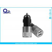 10W Mini Dual USB Car Charger , Mobile Phone Car charger for iPhone 7 5s Manufactures