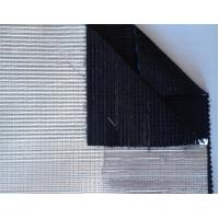 Black A / B & B / B Greenhouse Shade Screen with aluminum stripe , 99.9% shading ratio Manufactures