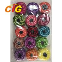 Garments Accessories Colorful 100% Cotton Combed Embroidery Thread 24s/2 Manufactures