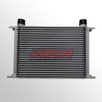 Universal aluminum engine transmission Mocal type 330mm length oil cooler 25 row Manufactures