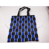 Two Tone Nylon Webbing Polyester Handbags For Shopping Customized Design Manufactures