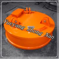 China Used Lifting Magnet for Normal Temperature Steel Scraps MW5-110L/1 on sale