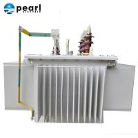Low Noise Oil Immersed Transformer With Steel Lamination Core 200KVA Manufactures