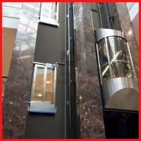 Load 800kg and 1.0m/s Spedd 4 Sides Opening Sightseeing Passenger Elevator Manufactures