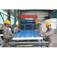 China Automatic EPS Sandwich Panel Production Line , Sandwich Panel Making Machine on sale