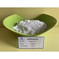 China Water Soluble  Azithromycin Antibiotic 83905 01 5 Bactericidal And Bacteriostatic Agents on sale