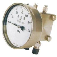 All stainless steel diaphragm differential pressure gauge Manufactures