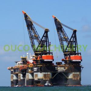 High Efficiency 60t Platform Lattice Boom Pedestal Cranes Manufactures