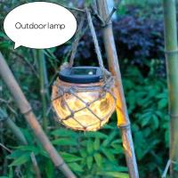 Solar glass jar light, outdoor garden lawn light, solar warm white LED lights Manufactures