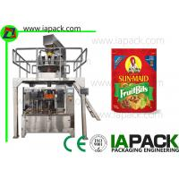 Potato Chips Packing Machine Stand Up Pouch Zipper Filler Sealer Manufactures