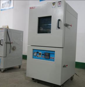 China 500 Deg C Powder Coated Micro PID Control High Temperature Heated Vacuum Chamber on sale