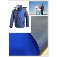 Skiing Wear Soft Nylon Taslon Fabric Water Repellent Dyed Bonding With Tricot Manufactures