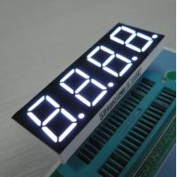 China White 4 Digit 7 Segment LED Display For Induction Cooker , Low Current Operation on sale