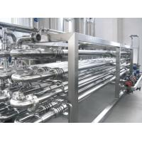 Small Space Occupation UHT Sterilization Machine / UHT Milk Production Line Easy Operation