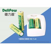 China Battery Charger 18650 Lithium Rechargeable Battery With 3 Years Cycle Life on sale