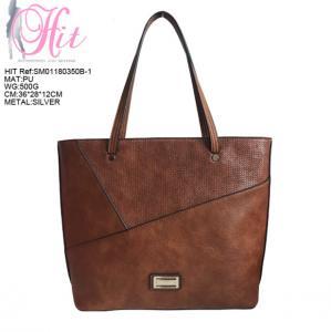 Hot Sale China Wholesale Ladies Fashion Classic Lightweight PU Leather Shopping Purse women bags handbag Manufactures