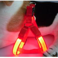 Yellow LED Flash Dog Harness Manufactures