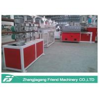 Three Layers Pvc Fiber Reinforced Hose Extrusion Line Weather Resistance Manufactures