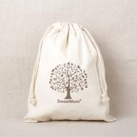 China eco-friendly cotton canvas drawstring bags personalized logo promotional gifts on sale