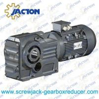 China 1/2HP 0.37KW K Series Helical bevel geared motors, Helical Bevel Gearmotors Specifications on sale