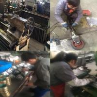 small hydraulic cylinder flange mount for crane