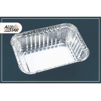 China High quality rectangular aluminum foil container on sale
