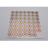 Business Use Laser Label Sticker Non - Toxic Strong Adhesion Color Offset Printing Manufactures