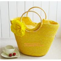 Summer New Fashion Straw Bag Designers Brand Women Handbag High-Capacity Women Handbag Manufactures