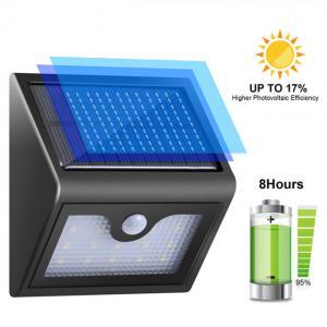 Buy cheap IP65 Waterproof Outdoor Solar Garden Lights , 500lm Outdoor Solar Security Lights from wholesalers