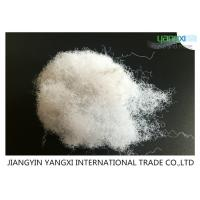 Low Defect Rates Non Woven Polyester Fiber 80D X 64MM For Insulation Panels Manufactures