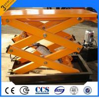 Quality Multifunctional Electric Scissor Lift With Fixed Hydraulic Lift Table for sale