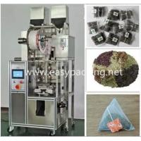 Eletctronic sclae automatic pyramid nylon tea bag packing machine with envelop Manufactures