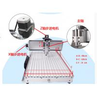 Free Shipping 4 Axis CNC 6040CH80 engraver with rotary axis and 1.5KW spindle, four axis Manufactures