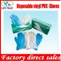 Disposable Clear Powder Free Vinyl Gloves with 4.5g M Size Manufactures