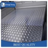 China Durable Aluminum Diamond Plate Sheets Anti - Rust Function For Refrigerator on sale