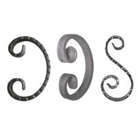 Iron Fence Ornamental Iron Parts Mild Steel Wrought Iron Forged Scrolls Manufactures