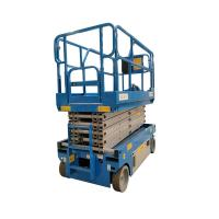 Warehouse 8 Meter Compact Scissor Lift Smooth Control Accuracy Steady Fall Manufactures